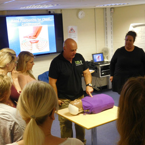 Early Years Hub Emergency First Aid at Work Course