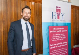 HY Professional Services exhibiting at The Hub 2018