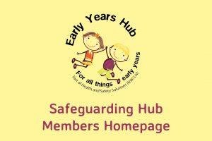 Safeguarding Hub members Home Page