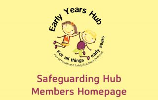 Safeguarding Hub members Home Page