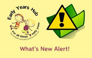 Safeguarding Hub: What's New Alert