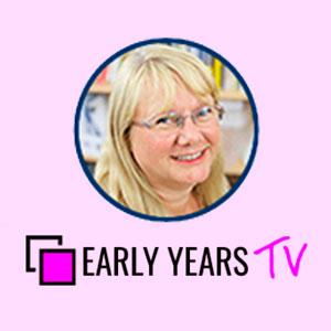 Early Years TV image featuring host Kathy Brodie